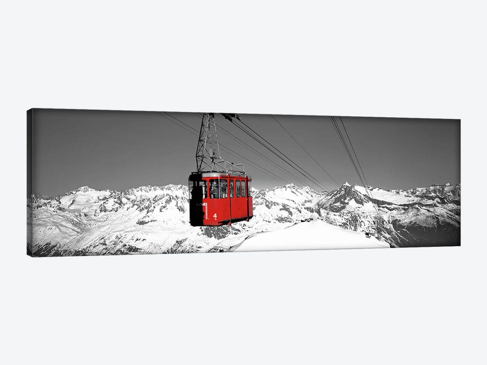 Cable Car Andermatt Switzerland Color Pop by Panoramic Images 1-piece Art Print
