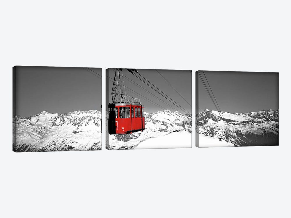 Cable Car Andermatt Switzerland Color Pop by Panoramic Images 3-piece Art Print