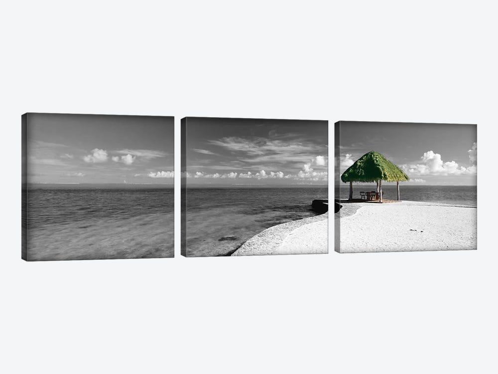 Bora Bora Point Bora Bora Color Pop by Panoramic Images 3-piece Canvas Art Print