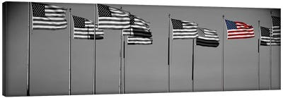 Flags New York NY Color Pop Canvas Print #ICA1273