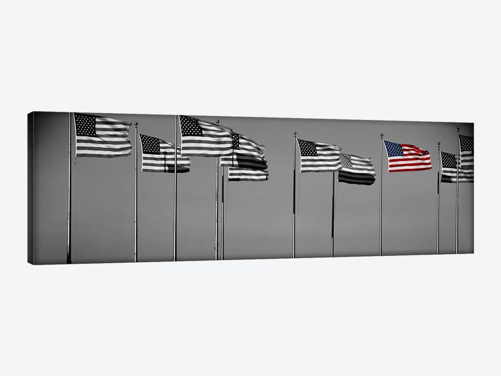 Flags New York NY Color Pop by Panoramic Images 1-piece Canvas Art