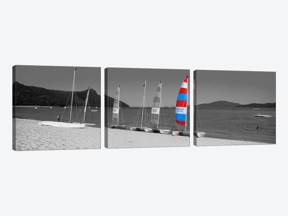 Hamilton Island Australia Color Pop by Panoramic Images 3-piece Canvas Wall Art
