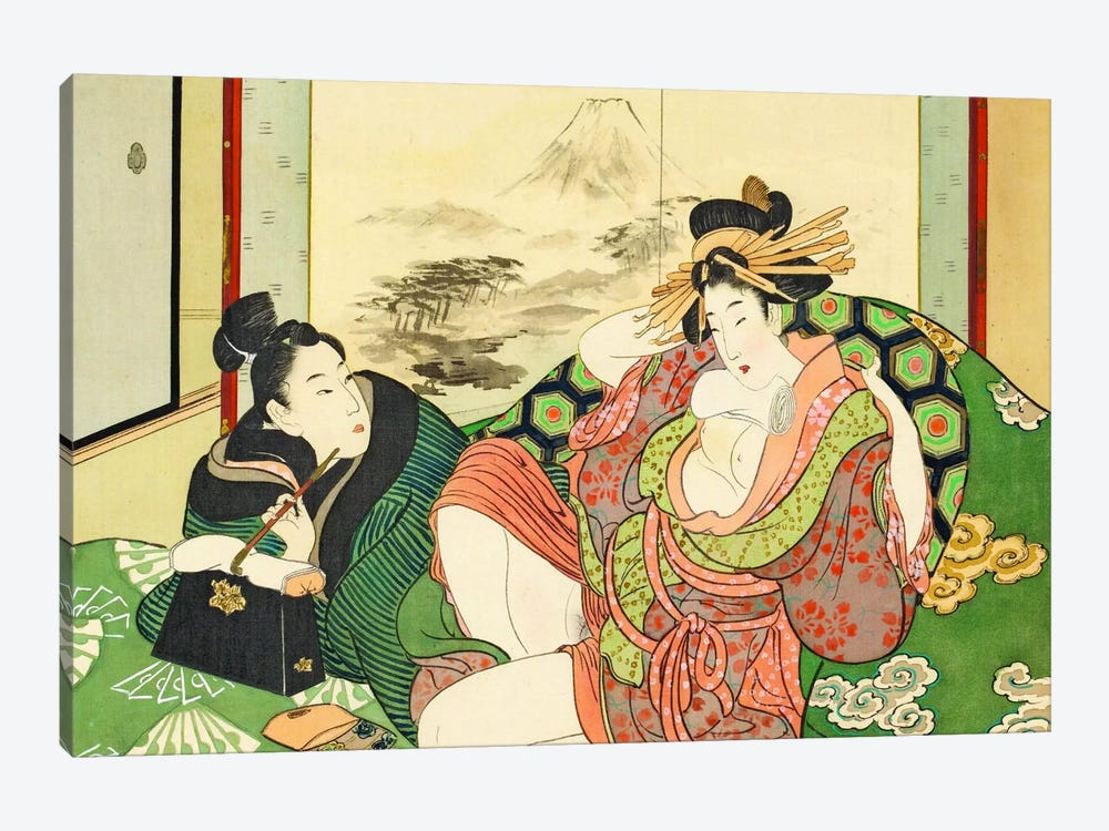 Bathhouse Sessions by Unknown Artist 1-piece Canvas Art Print