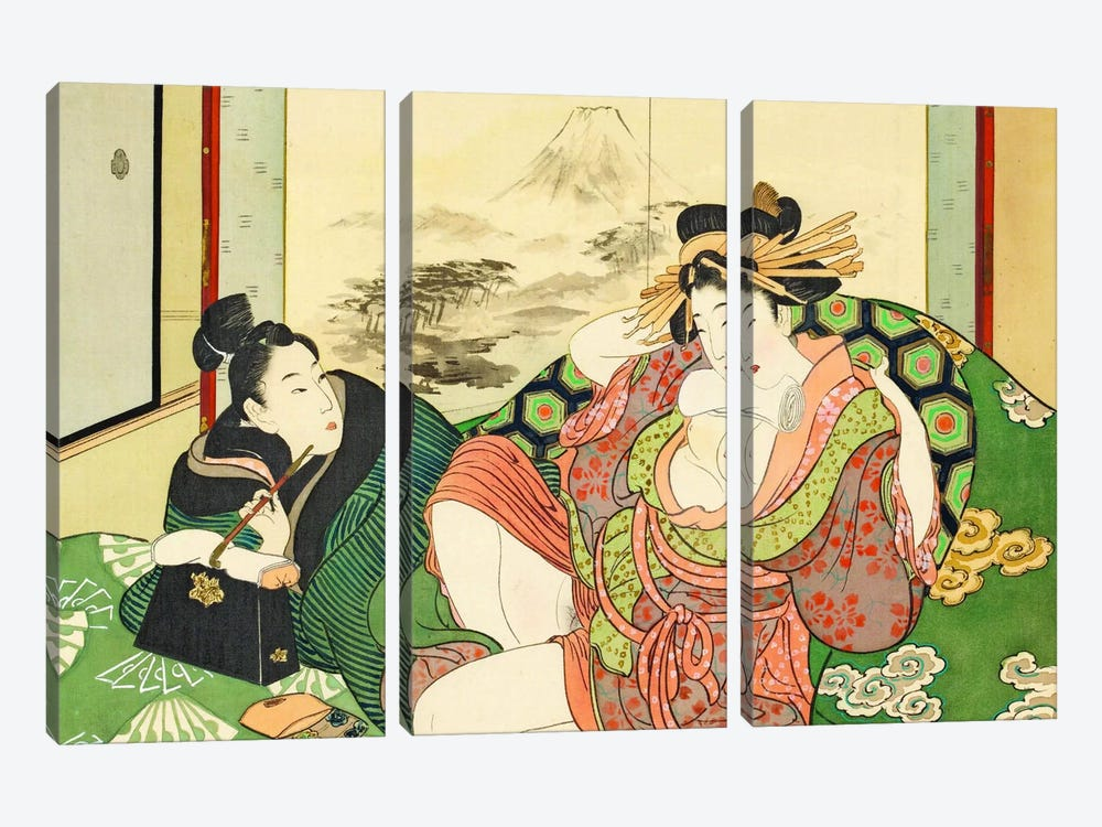 Bathhouse Sessions by Unknown Artist 3-piece Art Print