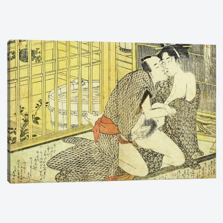 Bathhouse Sessions 2 Canvas Print #ICA1292} by Unknown Artist Canvas Artwork