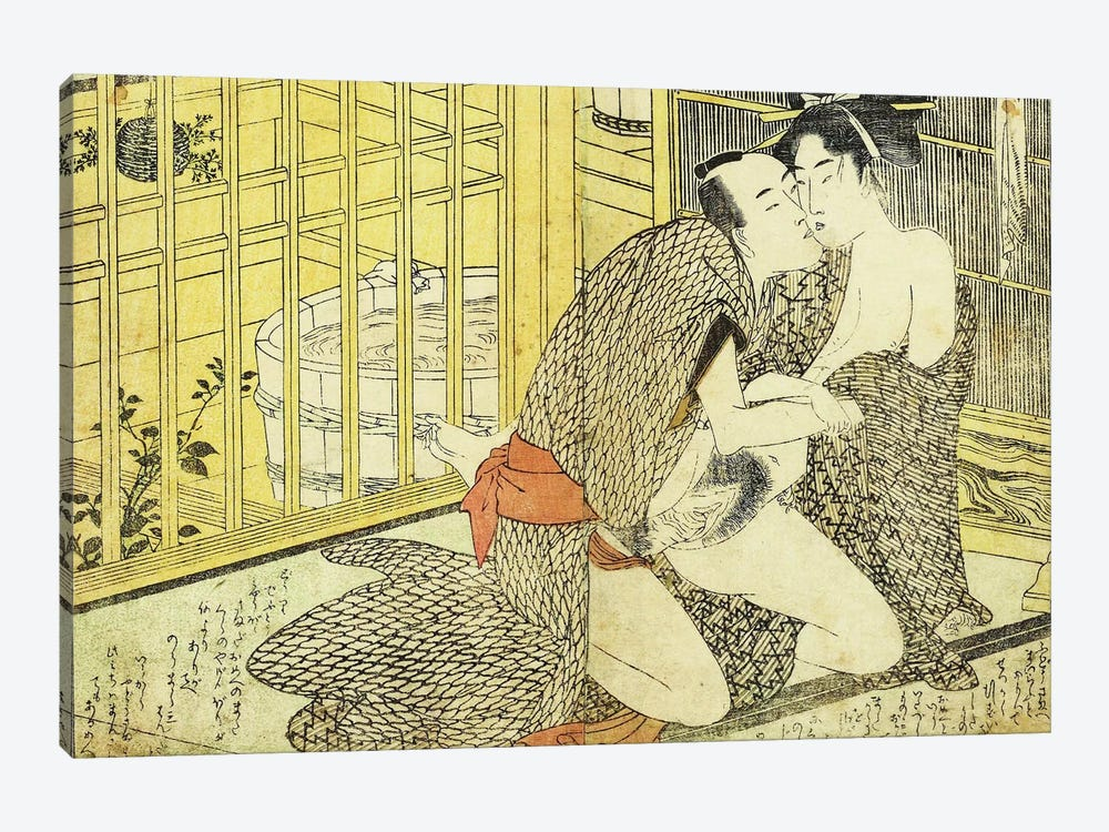 Bathhouse Sessions 2 by Unknown Artist 1-piece Canvas Art Print
