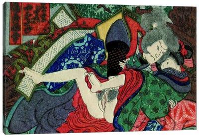 Shunga Canvas Art Print