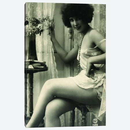 Victorian Burlesque Canvas Print #ICA1310} by Unknown Artist Canvas Print