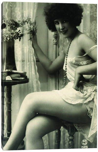 Victorian Burlesque Canvas Art Print