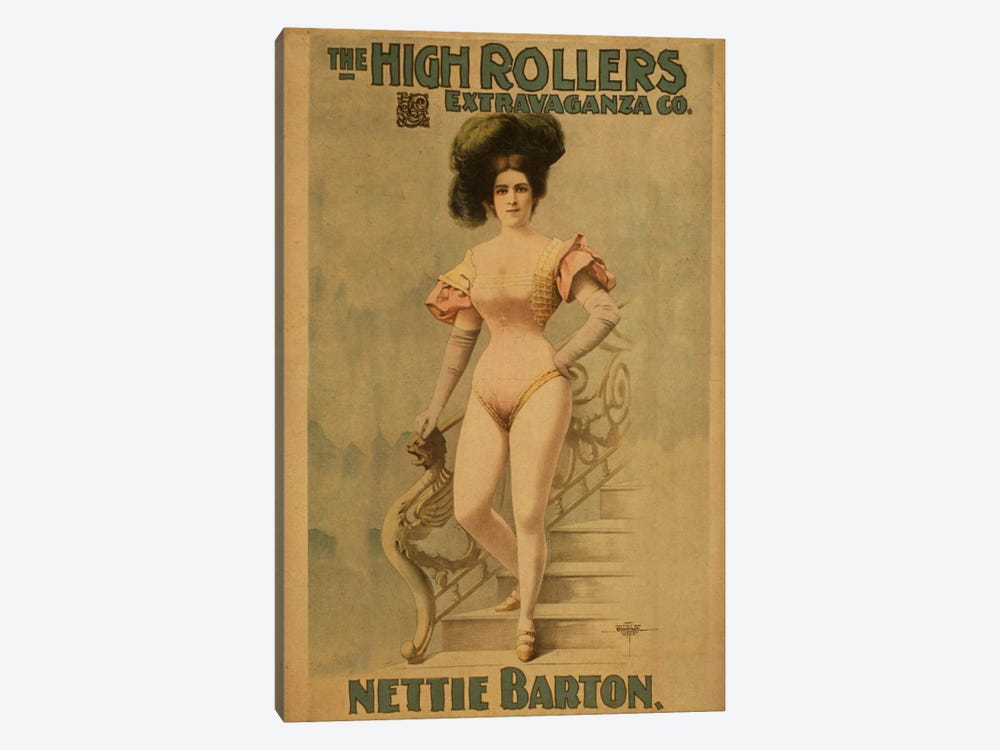 Nettie Barton by Unknown Artist 1-piece Art Print