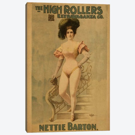 Nettie Barton Canvas Print #ICA1317} by Unknown Artist Canvas Artwork