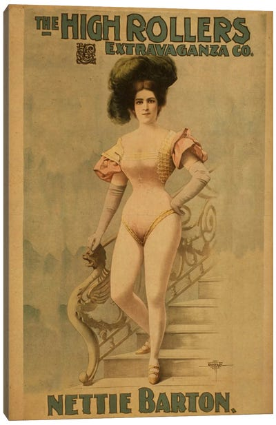 Nettie Barton Canvas Art Print