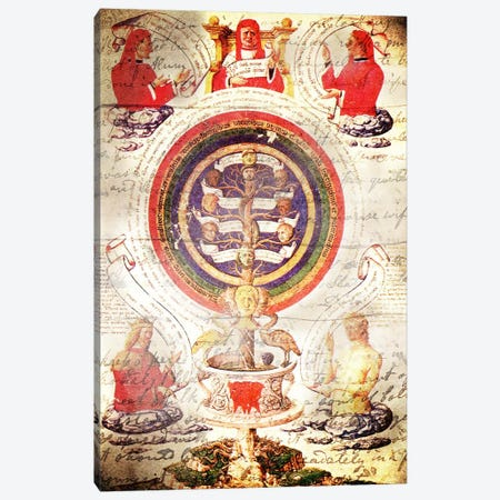 Alchemic Tree Canvas Print #ICA1320} by iCanvas Canvas Art