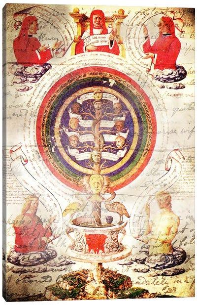 Alchemic Tree Canvas Print #ICA1320