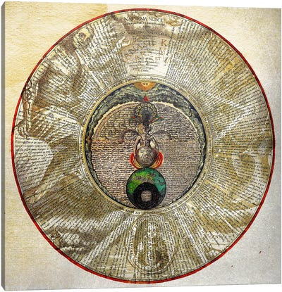 Radial Alchemy Canvas Art Print