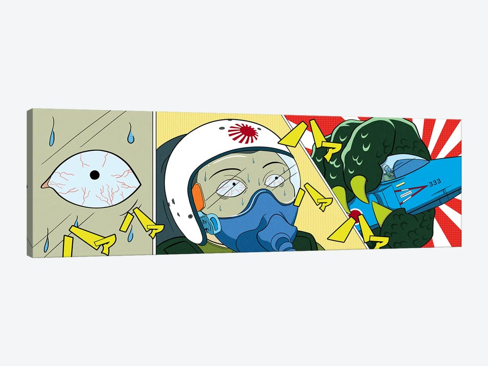 Final Moments by 5by5collective 1-piece Canvas Artwork