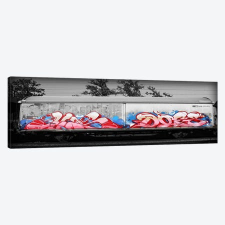 Graffiti Bomb Canvas Print #ICA1331} by 5by5collective Canvas Print