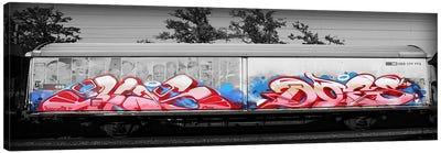 Graffiti Bomb Canvas Art Print