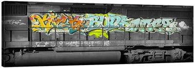 Buddy Train Canvas Art Print