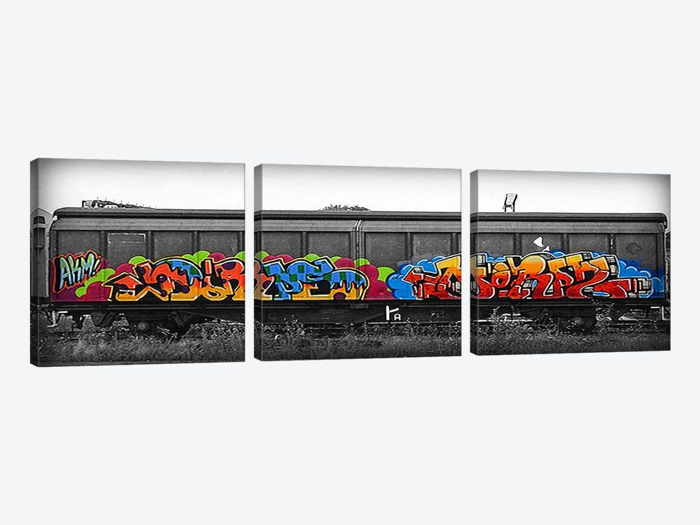 DORPS by 5by5collective 3-piece Canvas Print