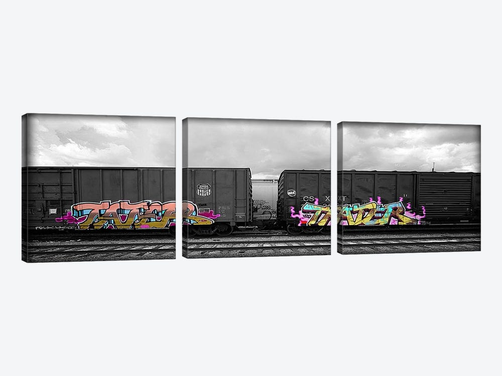 Tater by 5by5collective 3-piece Canvas Art