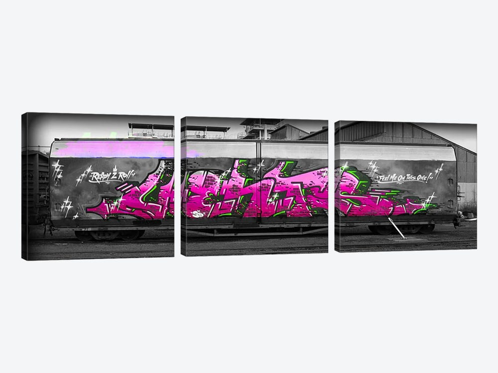 Feel Me on this One by 5by5collective 3-piece Canvas Print
