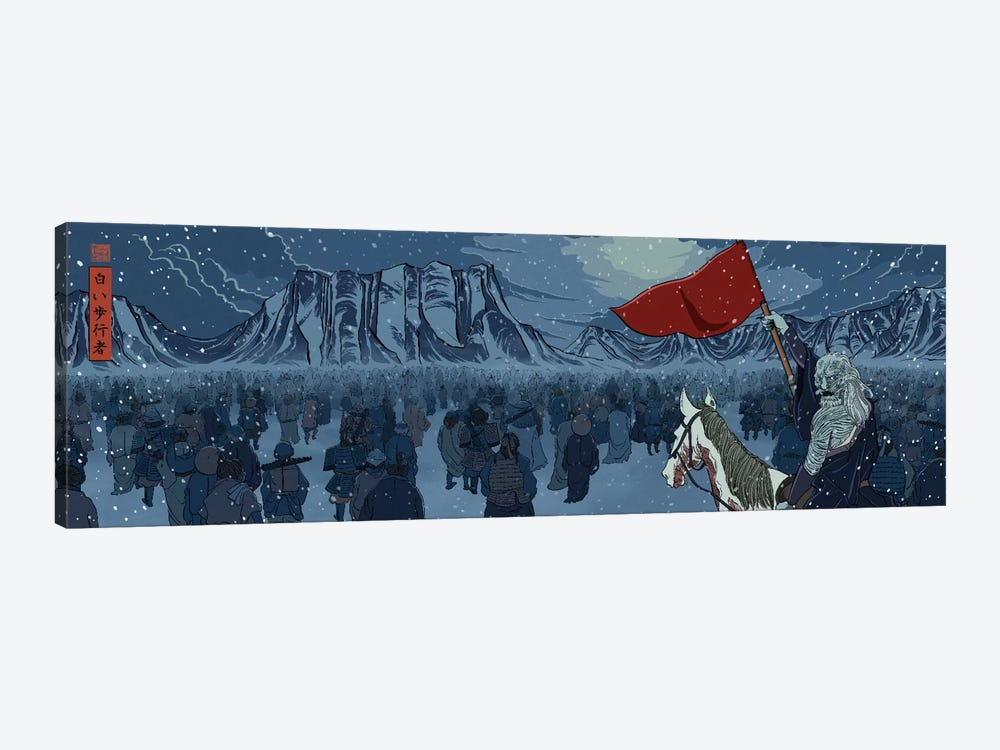White Walkers by 5by5collective 1-piece Canvas Wall Art