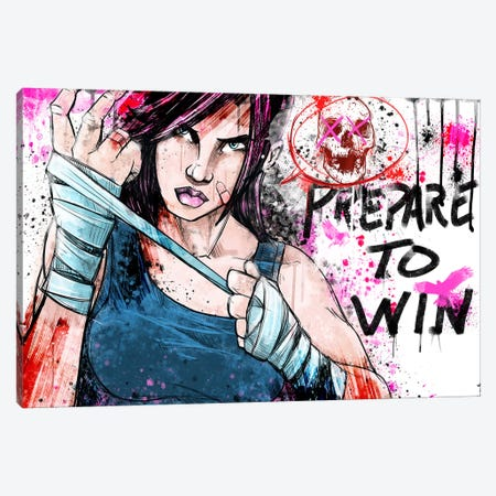 Prepare to Win Canvas Print #ICA1341} by Unknown Artist Canvas Art