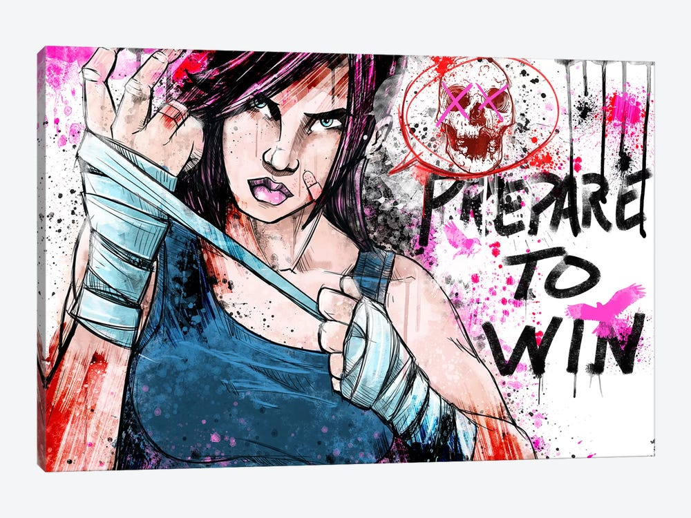 Prepare to Win by Unknown Artist 1-piece Canvas Wall Art