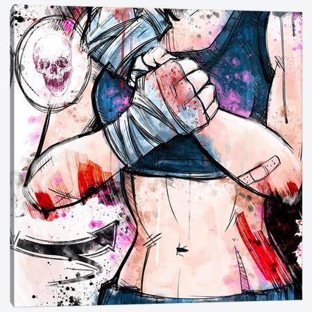 Hurt Canvas Print #ICA1342} by Unknown Artist Canvas Artwork