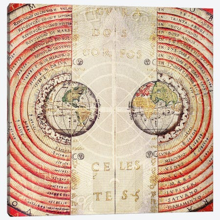 Terra Radials Canvas Print #ICA1346} by Unknown Artist Art Print