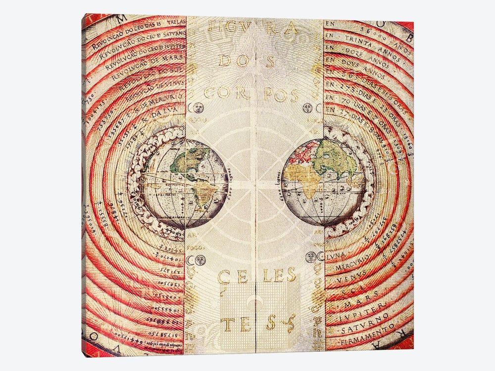 Terra Radials by Unknown Artist 1-piece Art Print