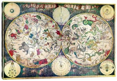 Planisphaer Canvas Print #ICA1348