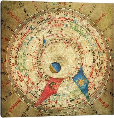 Alchemic Compass Canvas Art Print