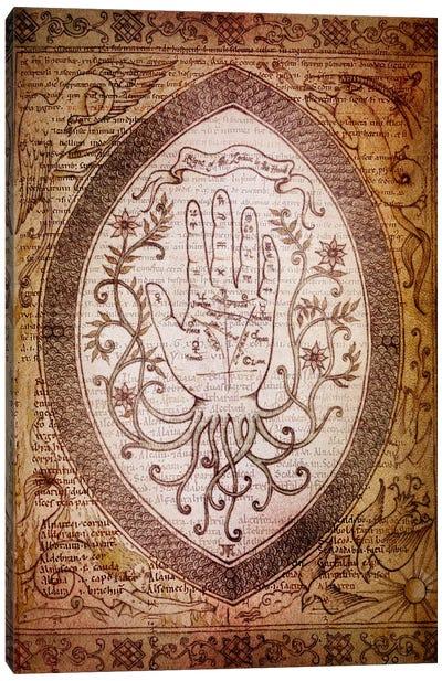 Victorian Palmistry Canvas Art Print