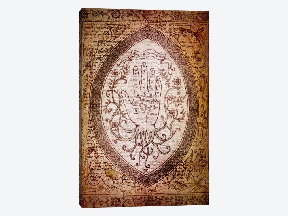 Victorian Palmistry by Unknown Artist 1-piece Canvas Art