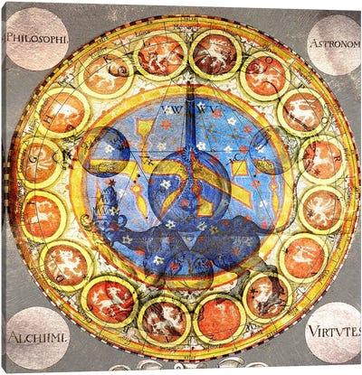 Virtvtes Alchimi Canvas Art Print