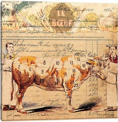 Le Boeuf II Canvas Art Print