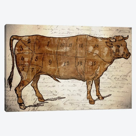 Le Boeuf III Canvas Print #ICA1361} by Unknown Artist Canvas Art