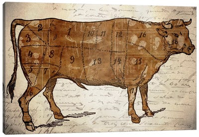 Le Boeuf III Canvas Art Print
