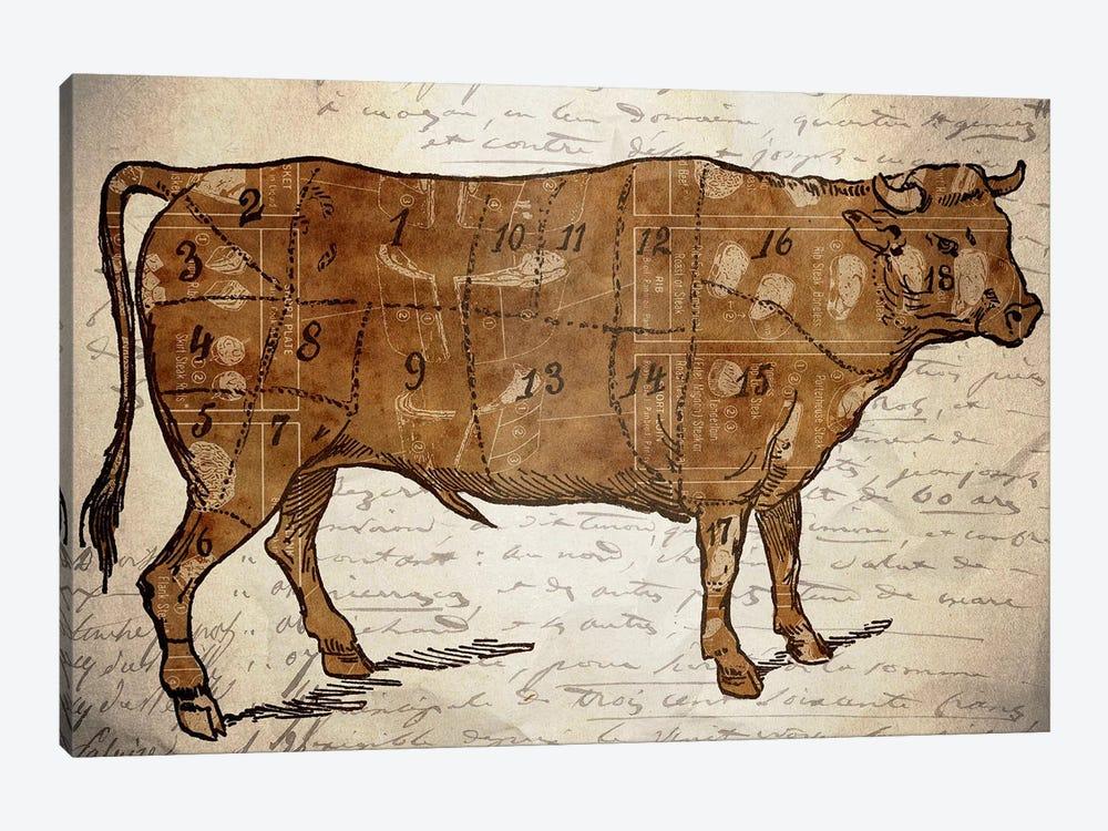 Le Boeuf III by Unknown Artist 1-piece Canvas Artwork