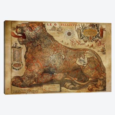Leo Belgicvs Canvas Print #ICA1365} by Unknown Artist Canvas Art Print