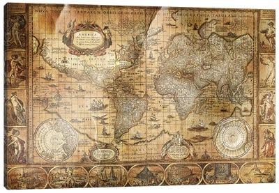 Terrarum Orbis Canvas Print #ICA1371