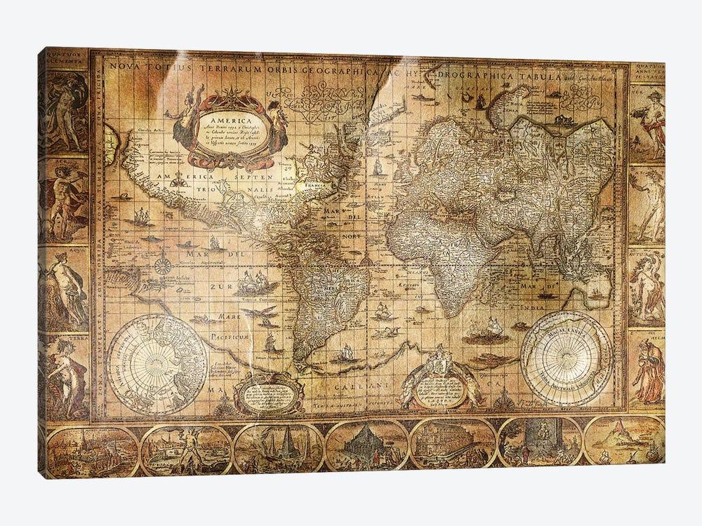 Terrarum Orbis by Unknown Artist 1-piece Art Print
