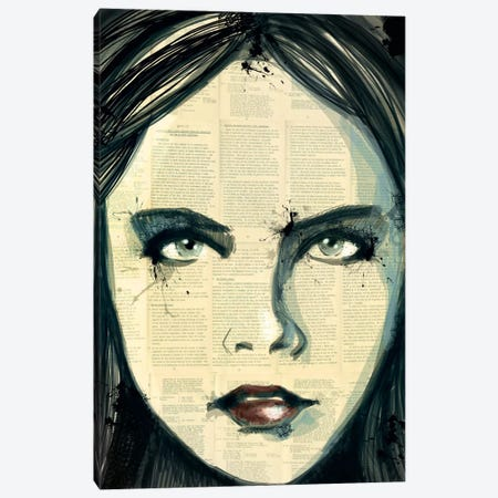 Grunge Look Canvas Print #ICA14} by Unknown Artist Canvas Art Print