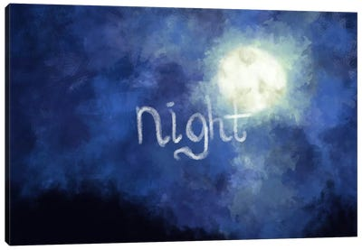 Night Sky Canvas Print #ICA150