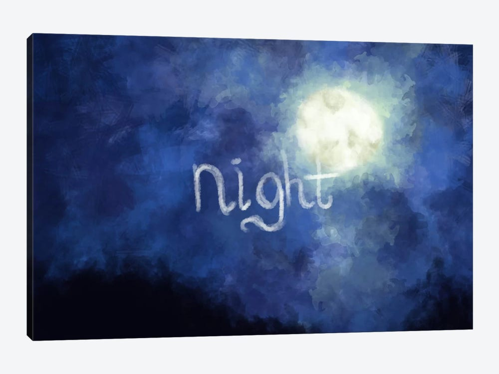 Night Sky by iCanvas 1-piece Canvas Artwork