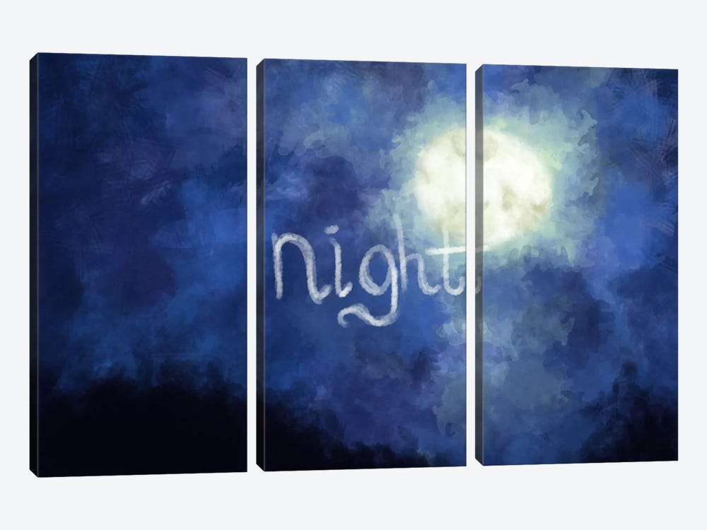 Night Sky by iCanvas 3-piece Canvas Artwork
