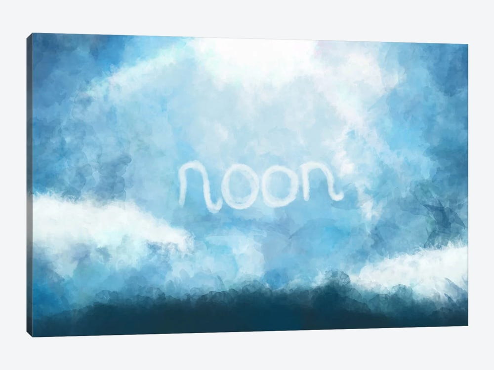Cloudy Noon by iCanvas 1-piece Art Print