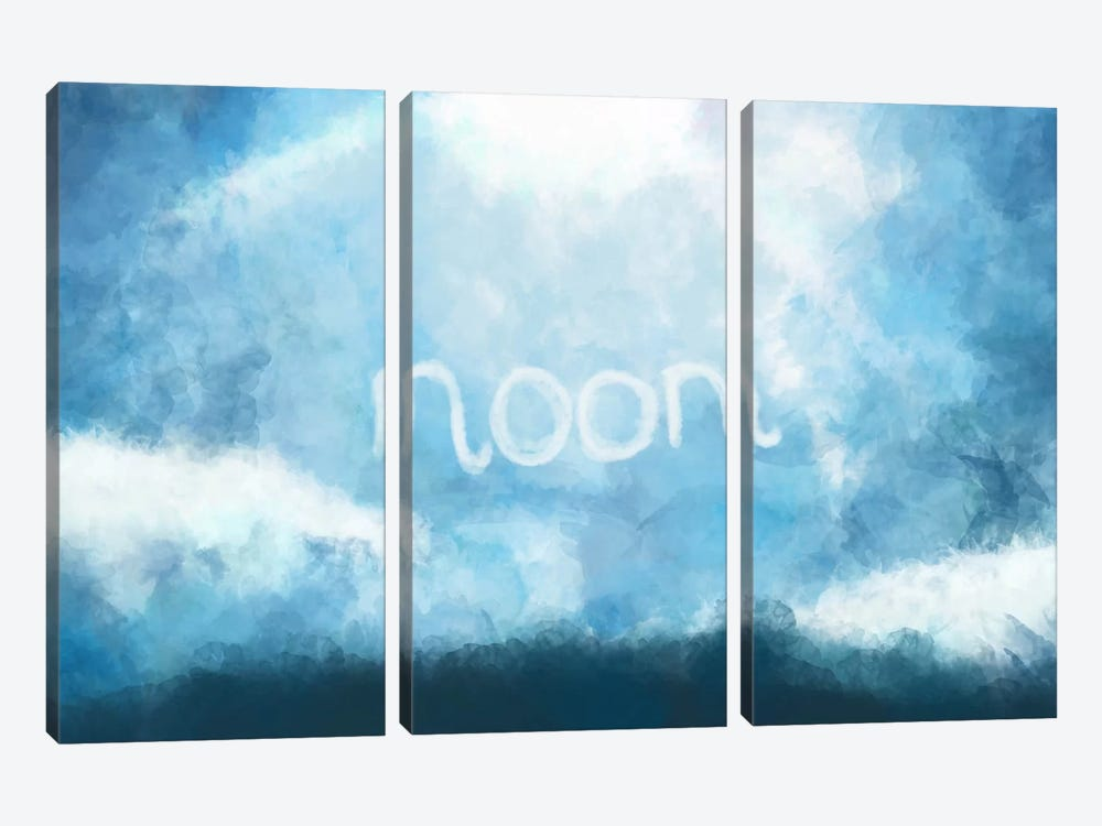Cloudy Noon by iCanvas 3-piece Art Print